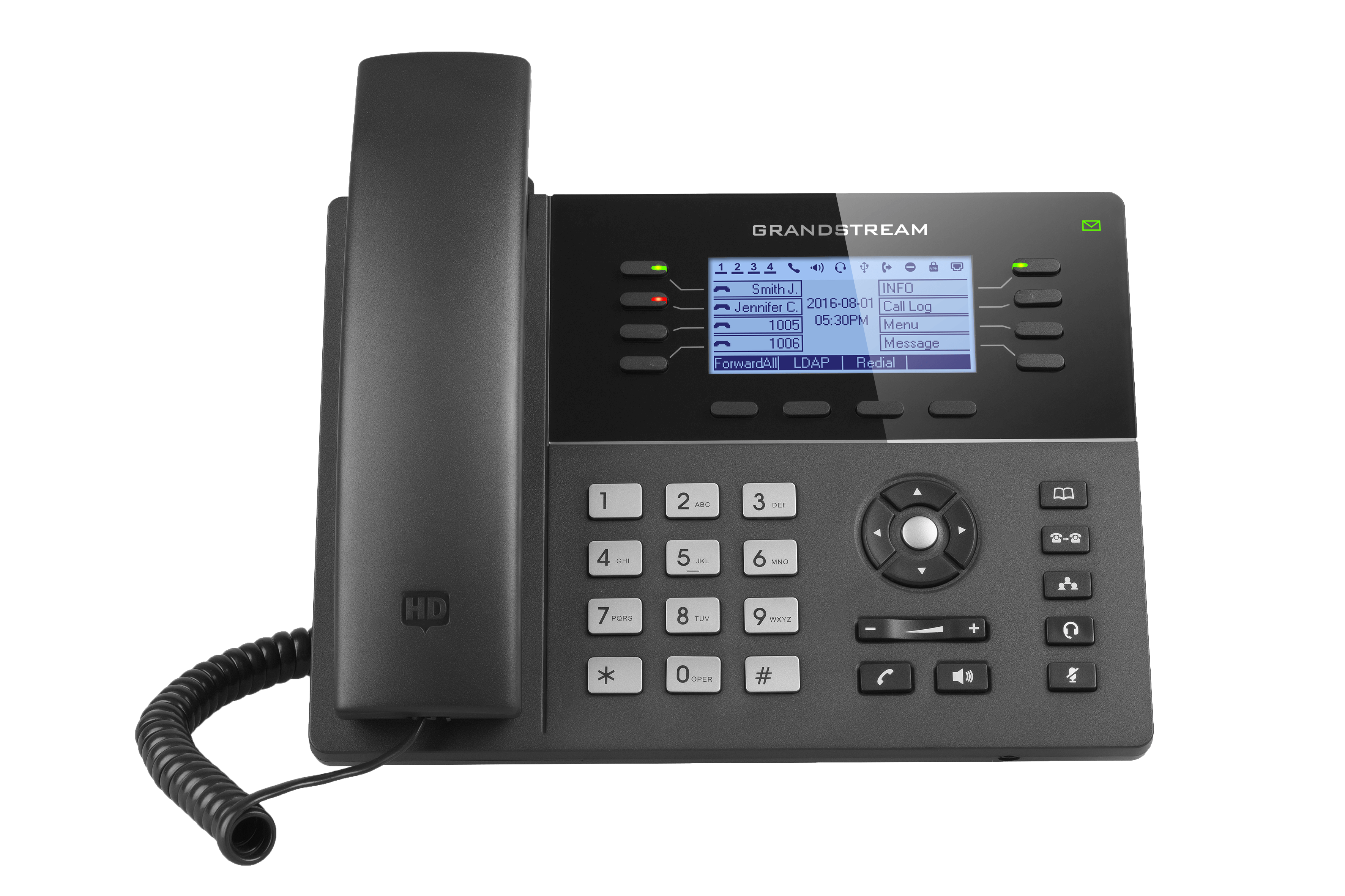 Grandstream GXP1700 series Mid-Range IP Phones